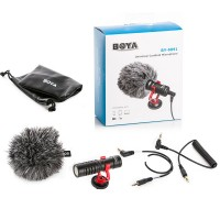 BOYA BY-MM1 Cardiod Shotgun Microphone