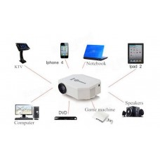 Multimedia LED Projector